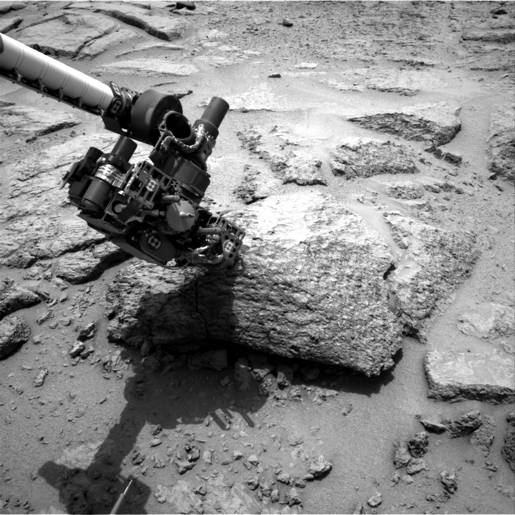 Nasa's Mars rover Curiosity acquired this image using its Right Navigation Camera on Sol 303, at drive 450, site number 6