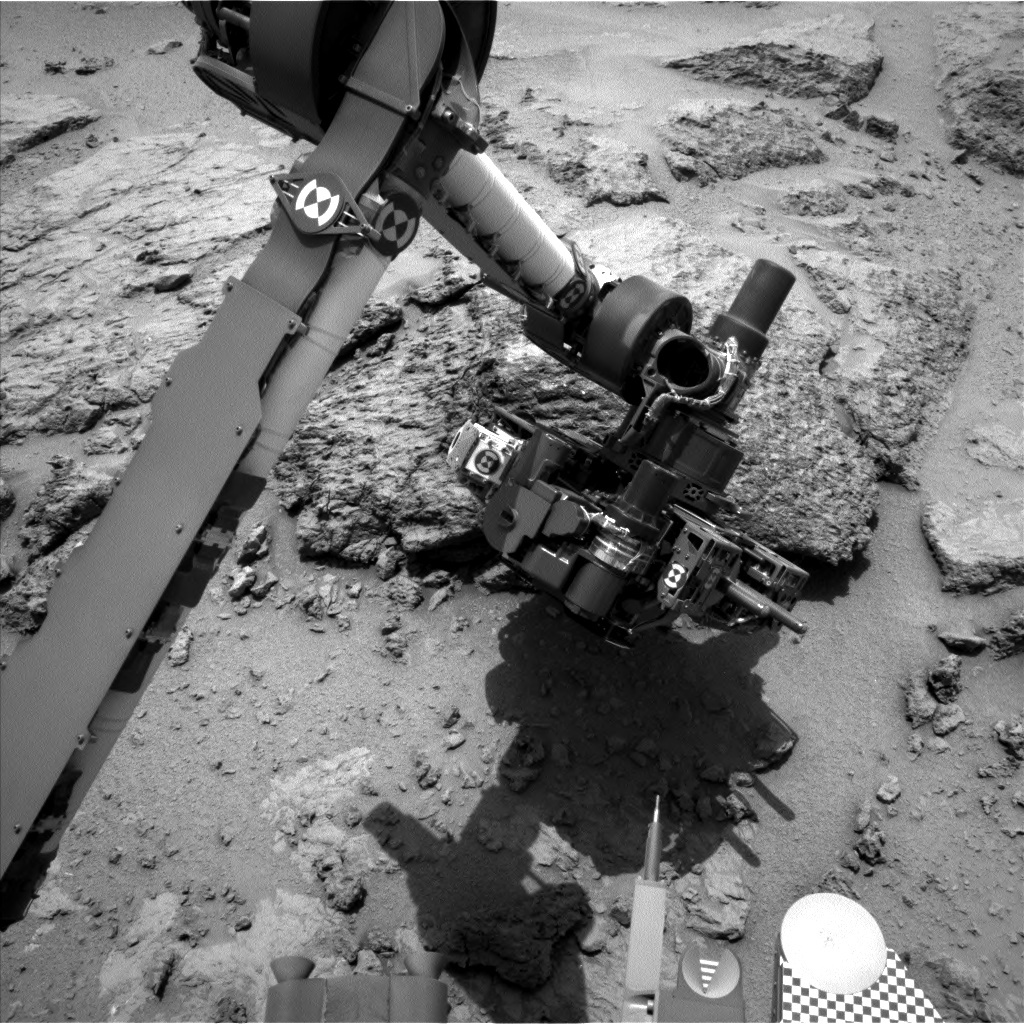 NASA's Mars rover Curiosity acquired this image using its Left Navigation Camera (Navcams) on Sol 304
