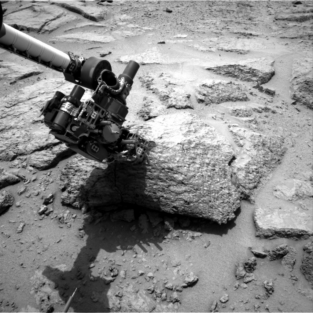 Nasa's Mars rover Curiosity acquired this image using its Right Navigation Camera on Sol 304, at drive 450, site number 6