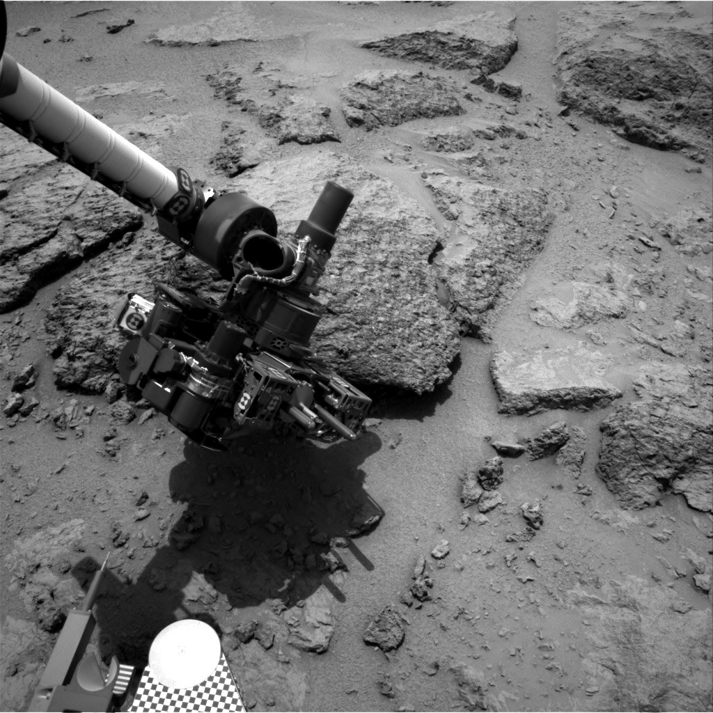 NASA's Mars rover Curiosity acquired this image using its Right Navigation Cameras (Navcams) on Sol 304