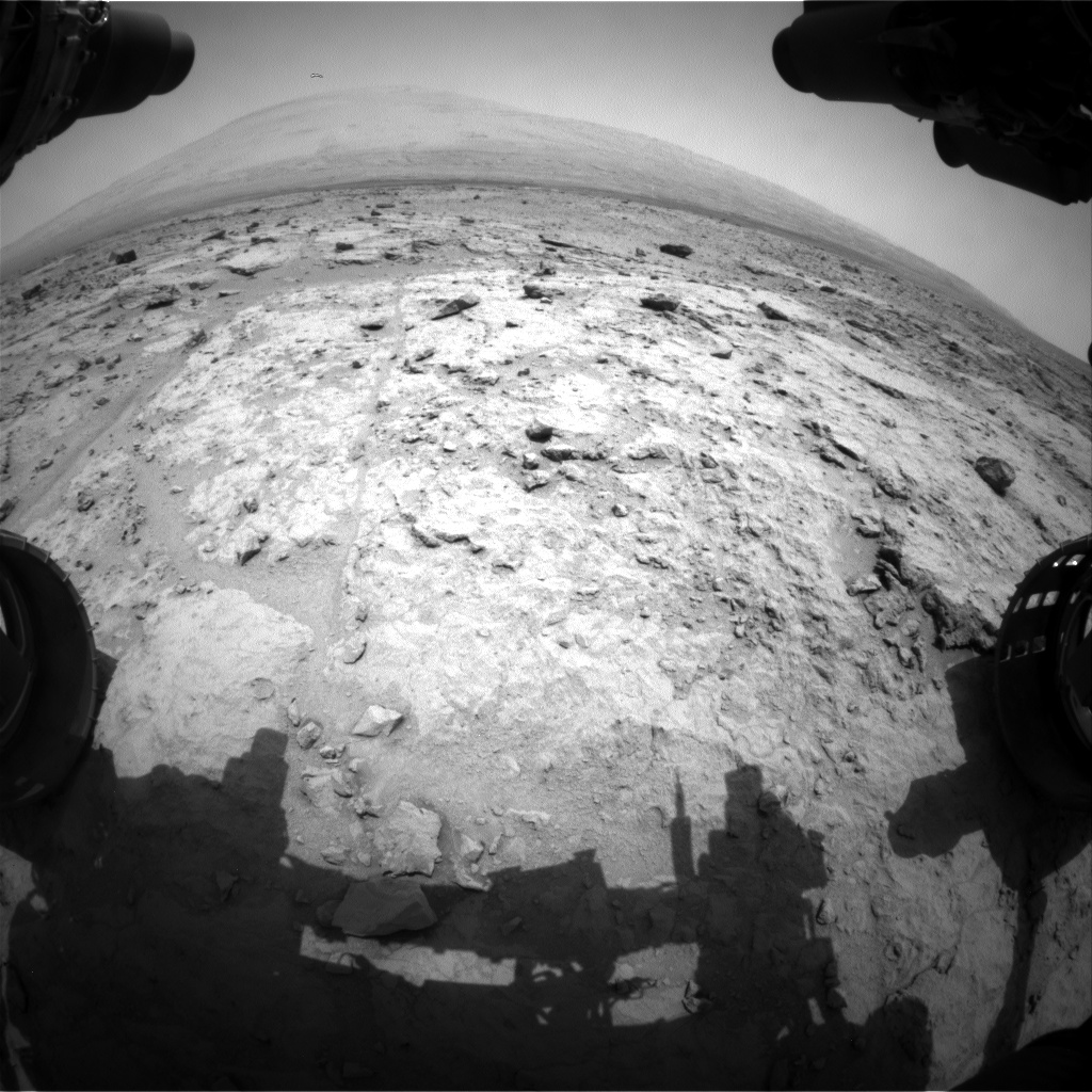 Nasa's Mars rover Curiosity acquired this image using its Front Hazard Avoidance Camera (Front Hazcam) on Sol 307, at drive 560, site number 6