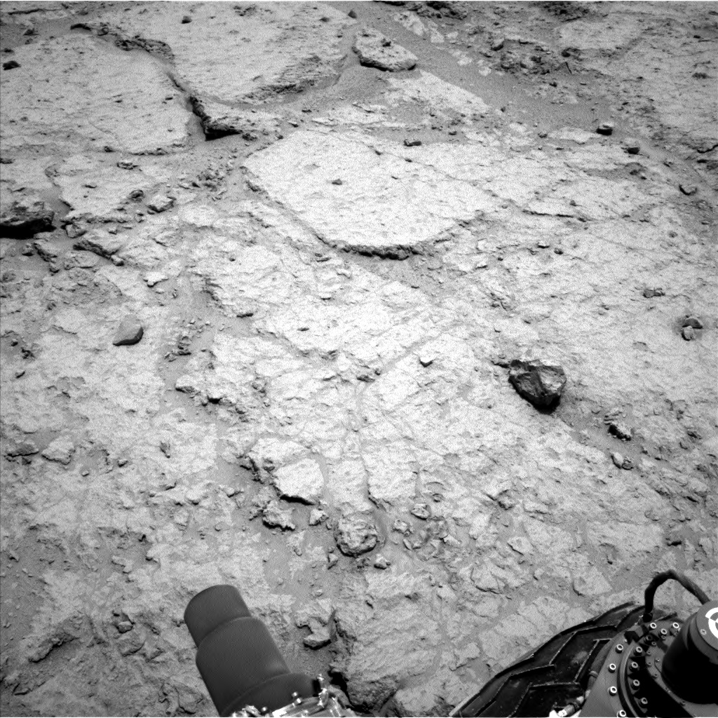Nasa's Mars rover Curiosity acquired this image using its Left Navigation Camera on Sol 307, at drive 560, site number 6