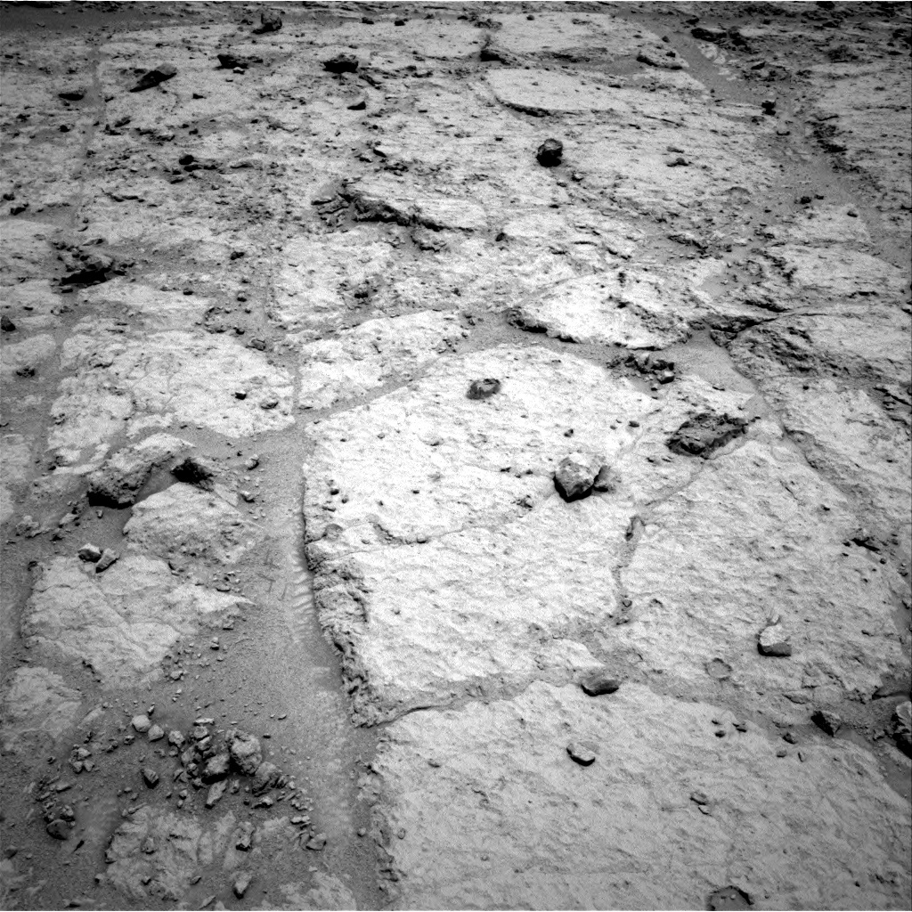 NASA's Mars rover Curiosity acquired this image using its Right Navigation Cameras (Navcams) on Sol 307