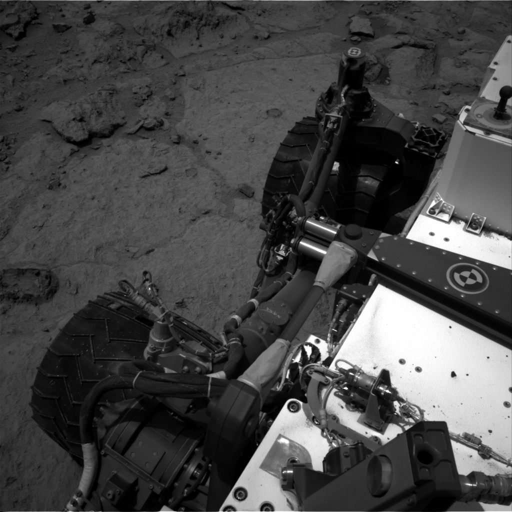 Nasa's Mars rover Curiosity acquired this image using its Right Navigation Camera on Sol 307, at drive 560, site number 6