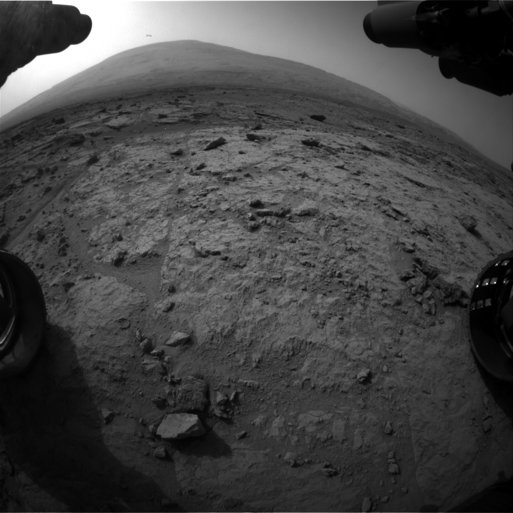Nasa's Mars rover Curiosity acquired this image using its Front Hazard Avoidance Camera (Front Hazcam) on Sol 308, at drive 560, site number 6