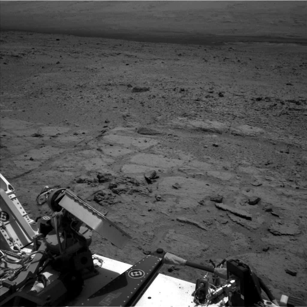 Nasa's Mars rover Curiosity acquired this image using its Left Navigation Camera on Sol 308, at drive 646, site number 6