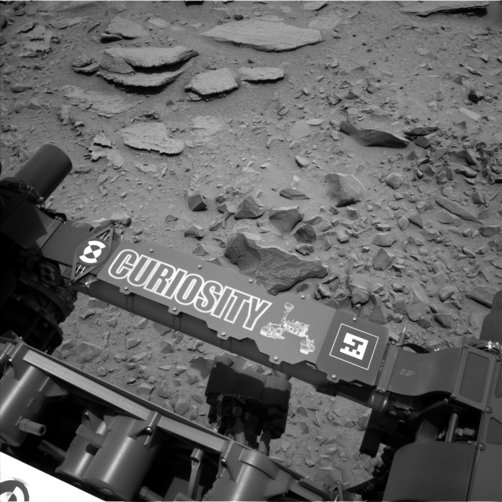 NASA's Mars rover Curiosity acquired this image using its Left Navigation Camera (Navcams) on Sol 308