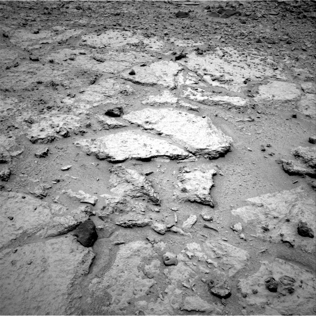 Nasa's Mars rover Curiosity acquired this image using its Right Navigation Camera on Sol 308, at drive 608, site number 6