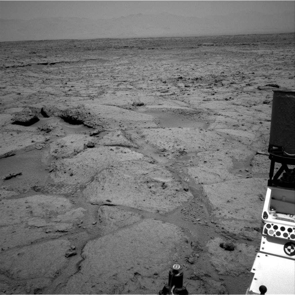 Nasa's Mars rover Curiosity acquired this image using its Right Navigation Camera on Sol 308, at drive 646, site number 6