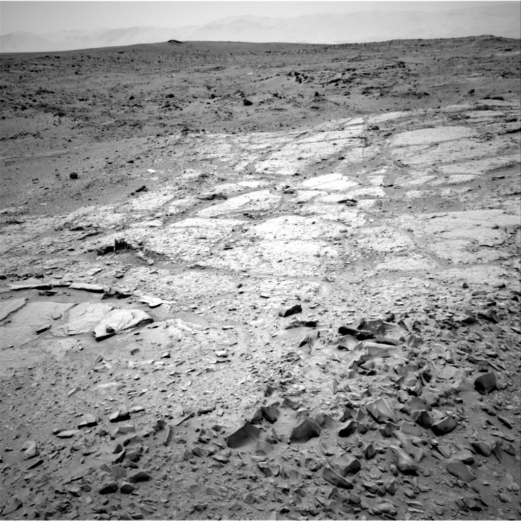 NASA's Mars rover Curiosity acquired this image using its Right Navigation Cameras (Navcams) on Sol 308