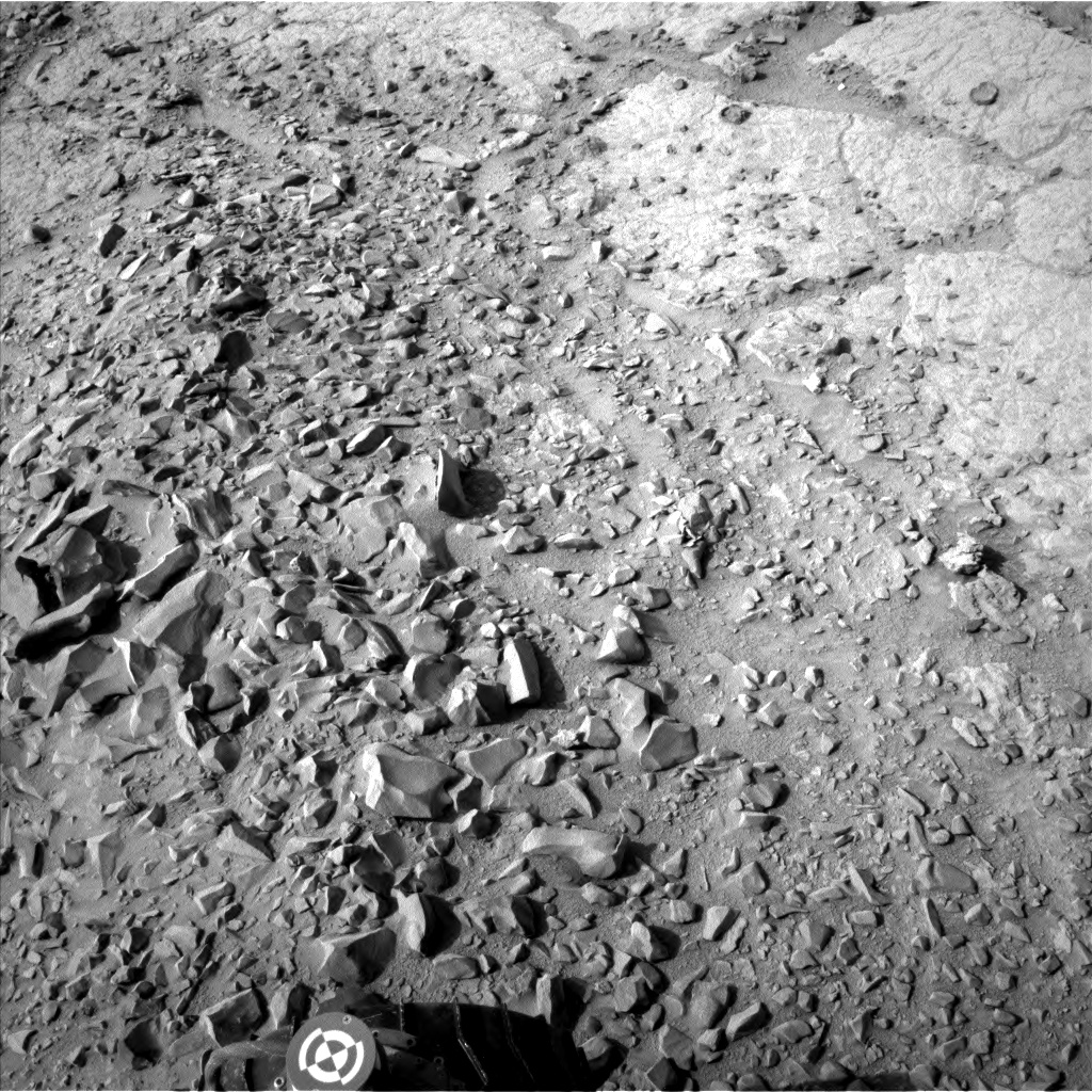 Nasa's Mars rover Curiosity acquired this image using its Left Navigation Camera on Sol 309, at drive 658, site number 6
