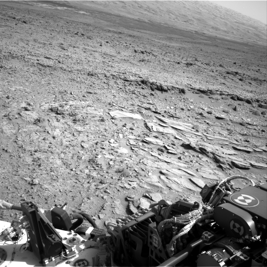 Nasa's Mars rover Curiosity acquired this image using its Right Navigation Camera on Sol 309, at drive 658, site number 6