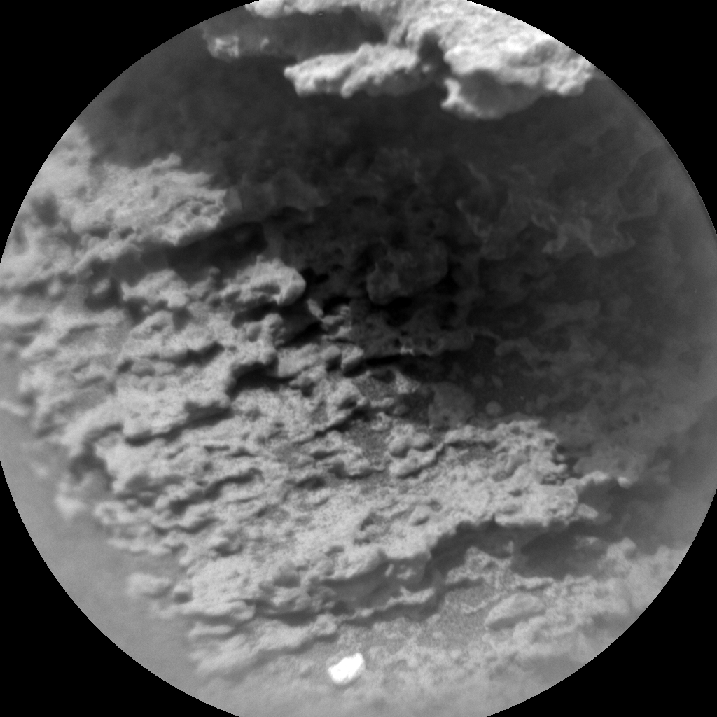 Nasa's Mars rover Curiosity acquired this image using its Chemistry & Camera (ChemCam) on Sol 309, at drive 646, site number 6