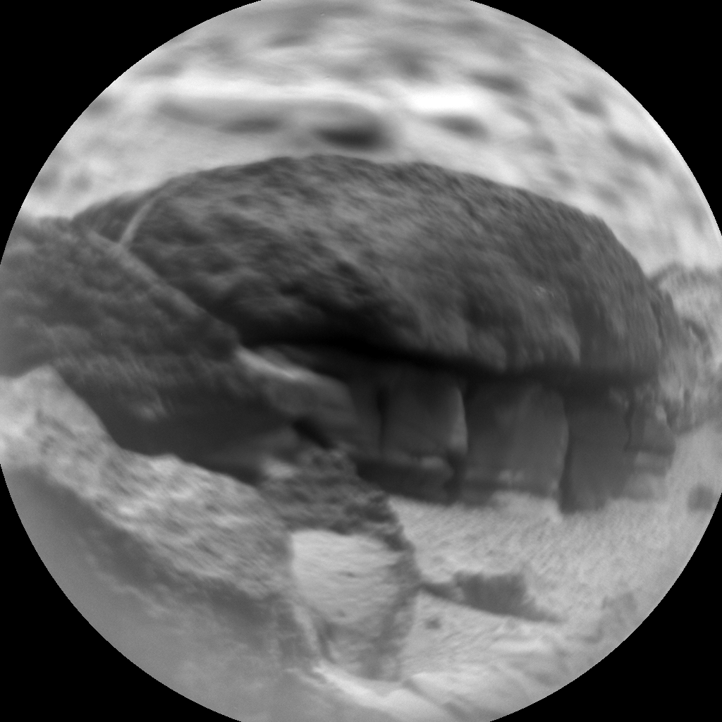 Nasa's Mars rover Curiosity acquired this image using its Chemistry & Camera (ChemCam) on Sol 311, at drive 658, site number 6