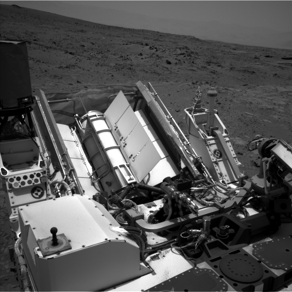NASA's Mars rover Curiosity acquired this image using its Left Navigation Camera (Navcams) on Sol 313
