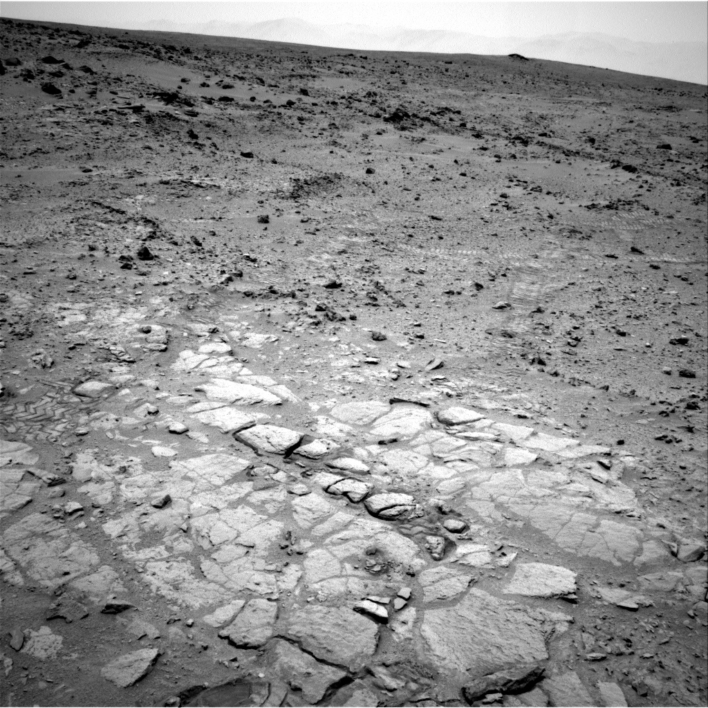 Nasa's Mars rover Curiosity acquired this image using its Right Navigation Camera on Sol 313, at drive 694, site number 6