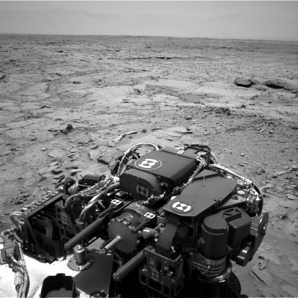 NASA's Mars rover Curiosity acquired this image using its Right Navigation Cameras (Navcams) on Sol 313