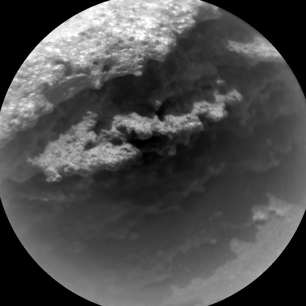 Nasa's Mars rover Curiosity acquired this image using its Chemistry & Camera (ChemCam) on Sol 315, at drive 704, site number 6