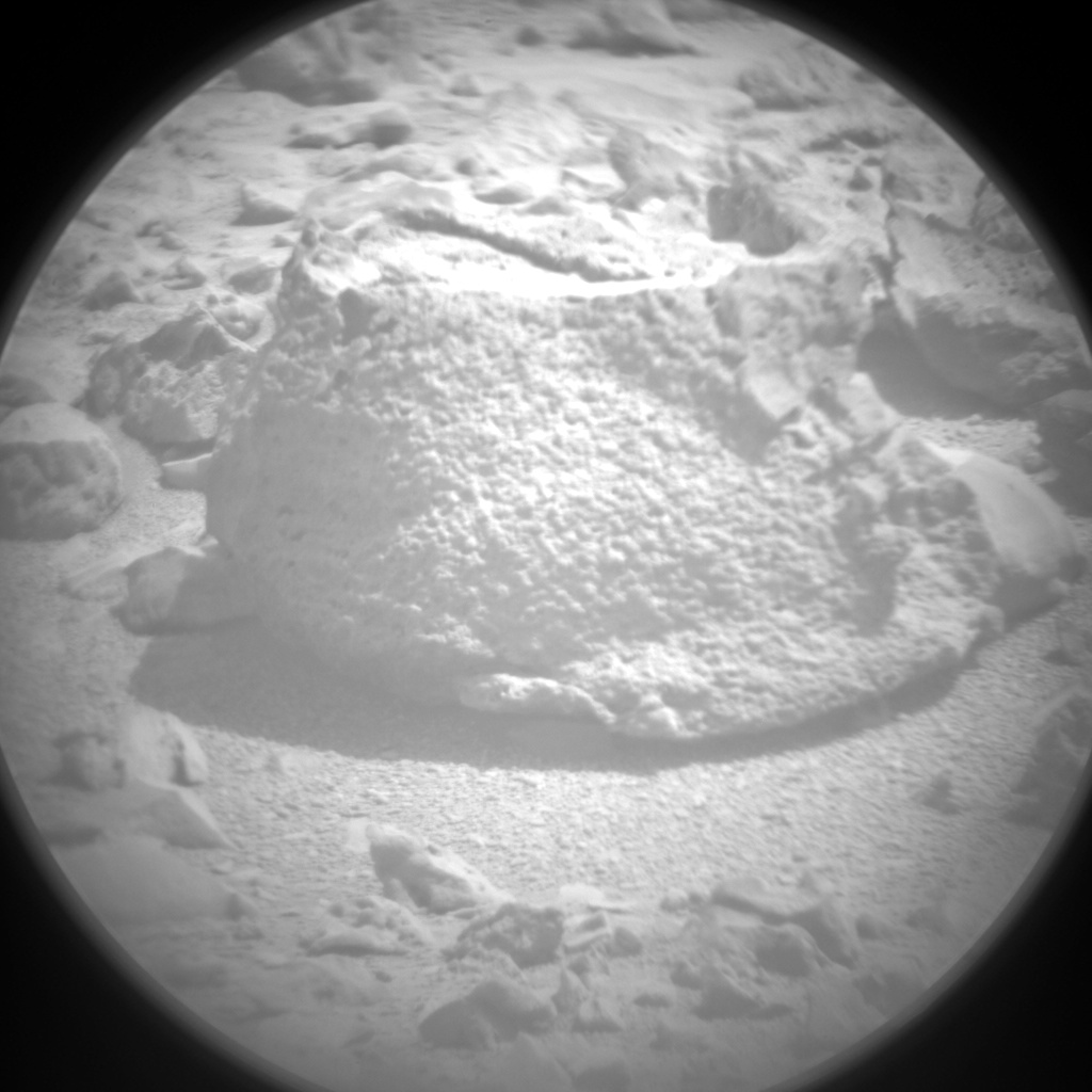 Nasa's Mars rover Curiosity acquired this image using its Chemistry & Camera (ChemCam) on Sol 316, at drive 704, site number 6