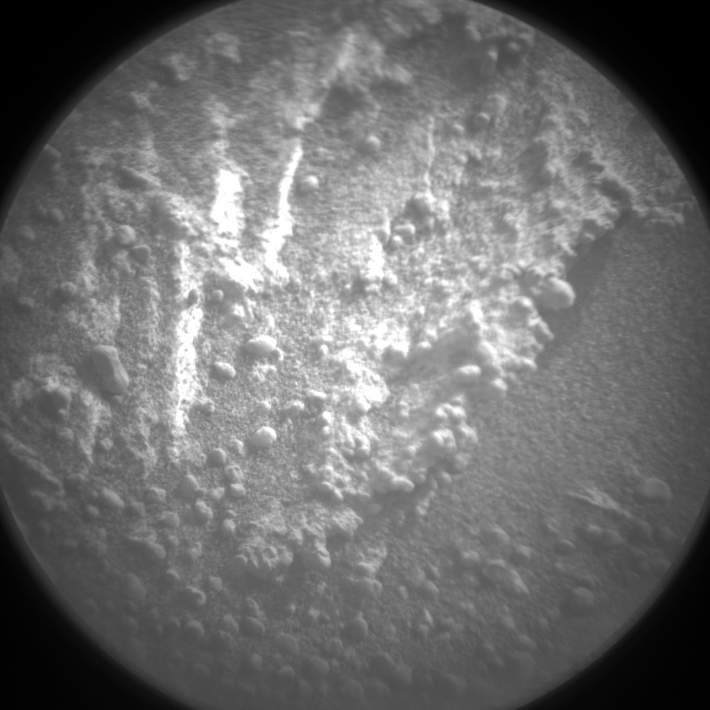 NASA's Mars rover Curiosity acquired this image using its Chemistry & Camera (ChemCam) on Sol 316