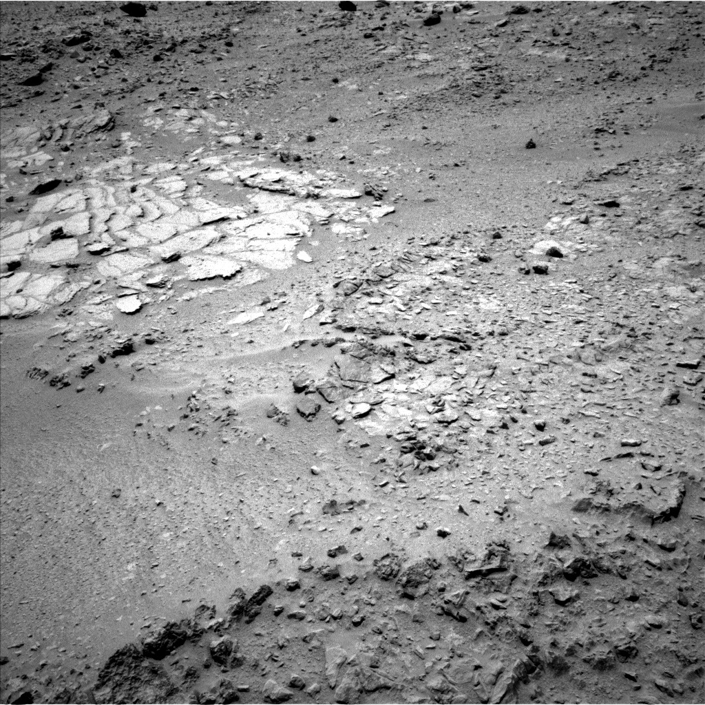 NASA's Mars rover Curiosity acquired this image using its Left Navigation Camera (Navcams) on Sol 317