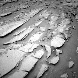 Nasa's Mars rover Curiosity acquired this image using its Right Navigation Camera on Sol 317, at drive 704, site number 6