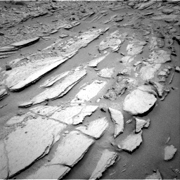 Nasa's Mars rover Curiosity acquired this image using its Right Navigation Camera on Sol 317, at drive 716, site number 6