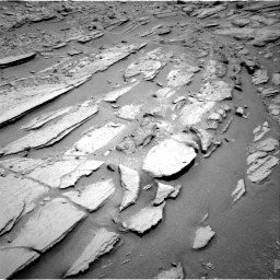 Nasa's Mars rover Curiosity acquired this image using its Right Navigation Camera on Sol 317, at drive 722, site number 6