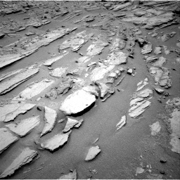 Nasa's Mars rover Curiosity acquired this image using its Right Navigation Camera on Sol 317, at drive 728, site number 6