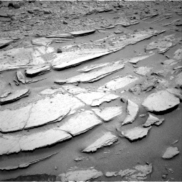 Nasa's Mars rover Curiosity acquired this image using its Right Navigation Camera on Sol 317, at drive 734, site number 6