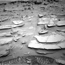 Nasa's Mars rover Curiosity acquired this image using its Right Navigation Camera on Sol 317, at drive 746, site number 6