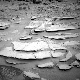 Nasa's Mars rover Curiosity acquired this image using its Right Navigation Camera on Sol 317, at drive 758, site number 6