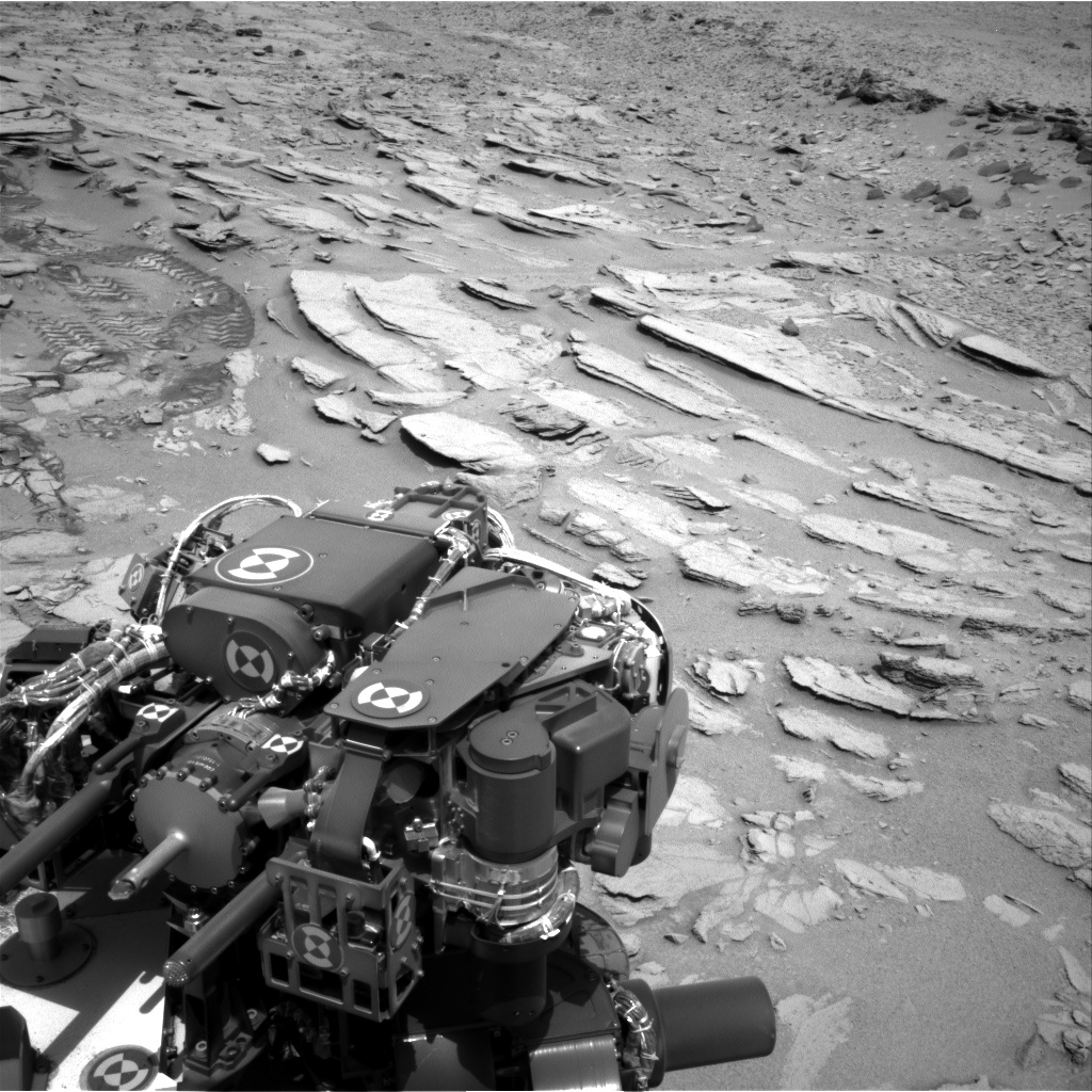 Nasa's Mars rover Curiosity acquired this image using its Right Navigation Camera on Sol 317, at drive 804, site number 6
