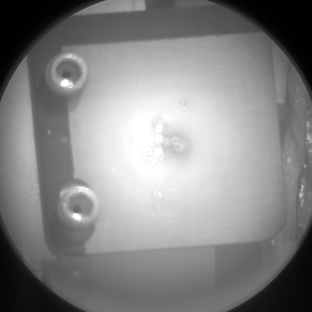 NASA's Mars rover Curiosity acquired this image using its Chemistry & Camera (ChemCam) on Sol 318