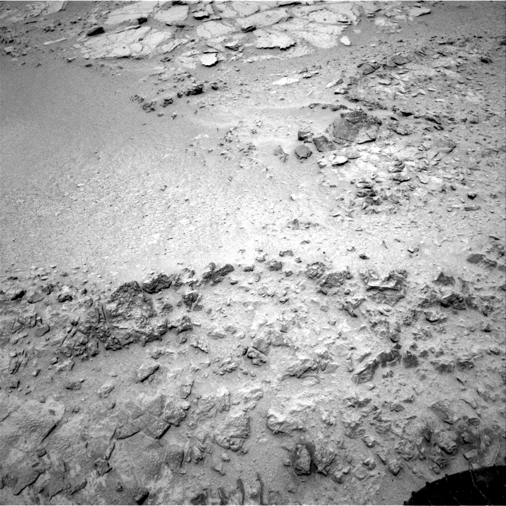 NASA's Mars rover Curiosity acquired this image using its Right Navigation Cameras (Navcams) on Sol 318