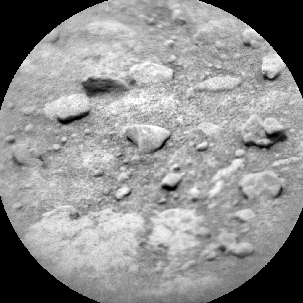 Nasa's Mars rover Curiosity acquired this image using its Chemistry & Camera (ChemCam) on Sol 318, at drive 804, site number 6