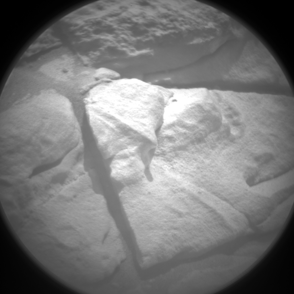 Nasa's Mars rover Curiosity acquired this image using its Chemistry & Camera (ChemCam) on Sol 319, at drive 804, site number 6