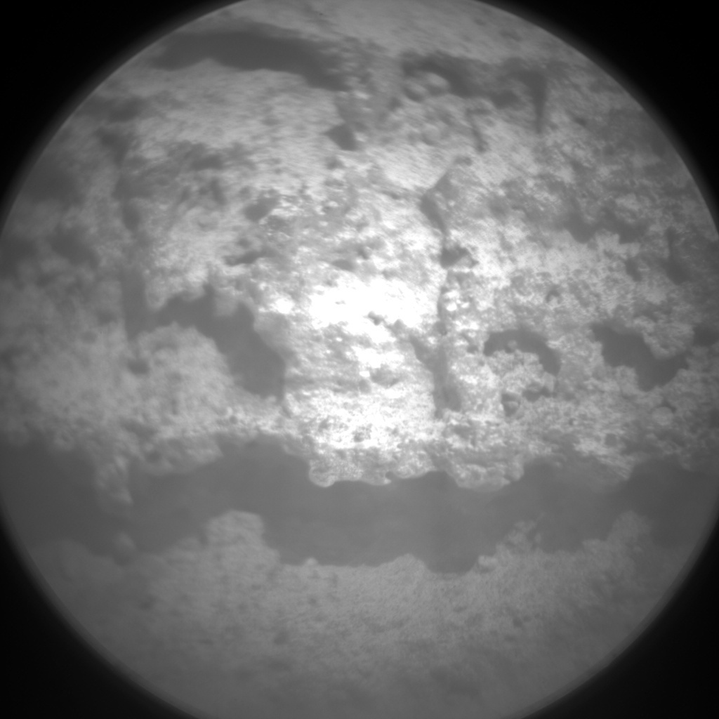 NASA's Mars rover Curiosity acquired this image using its Chemistry & Camera (ChemCam) on Sol 319
