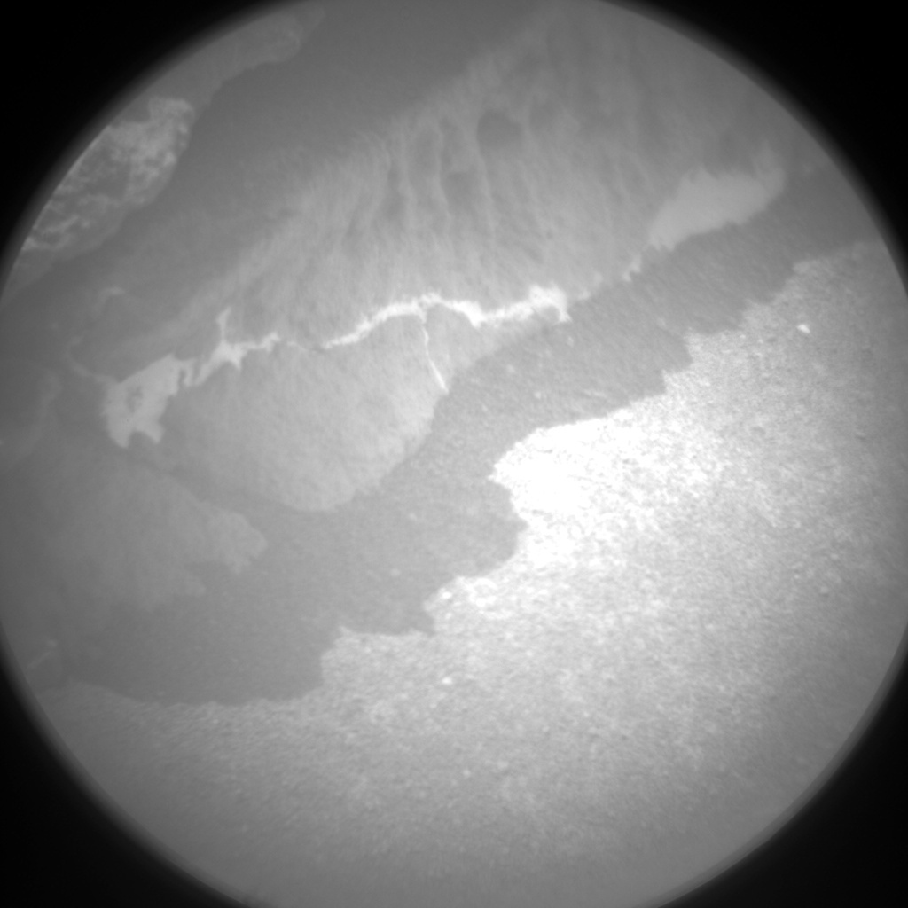 NASA's Mars rover Curiosity acquired this image using its Chemistry & Camera (ChemCam) on Sol 322