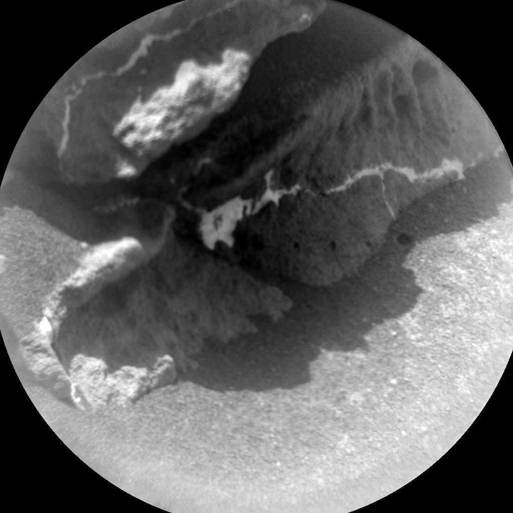 Nasa's Mars rover Curiosity acquired this image using its Chemistry & Camera (ChemCam) on Sol 322, at drive 804, site number 6