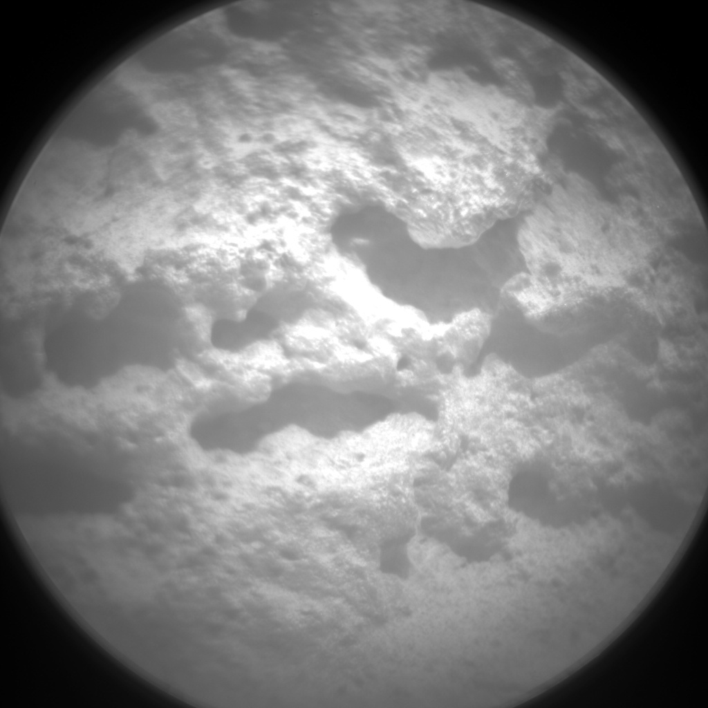 NASA's Mars rover Curiosity acquired this image using its Chemistry & Camera (ChemCam) on Sol 323