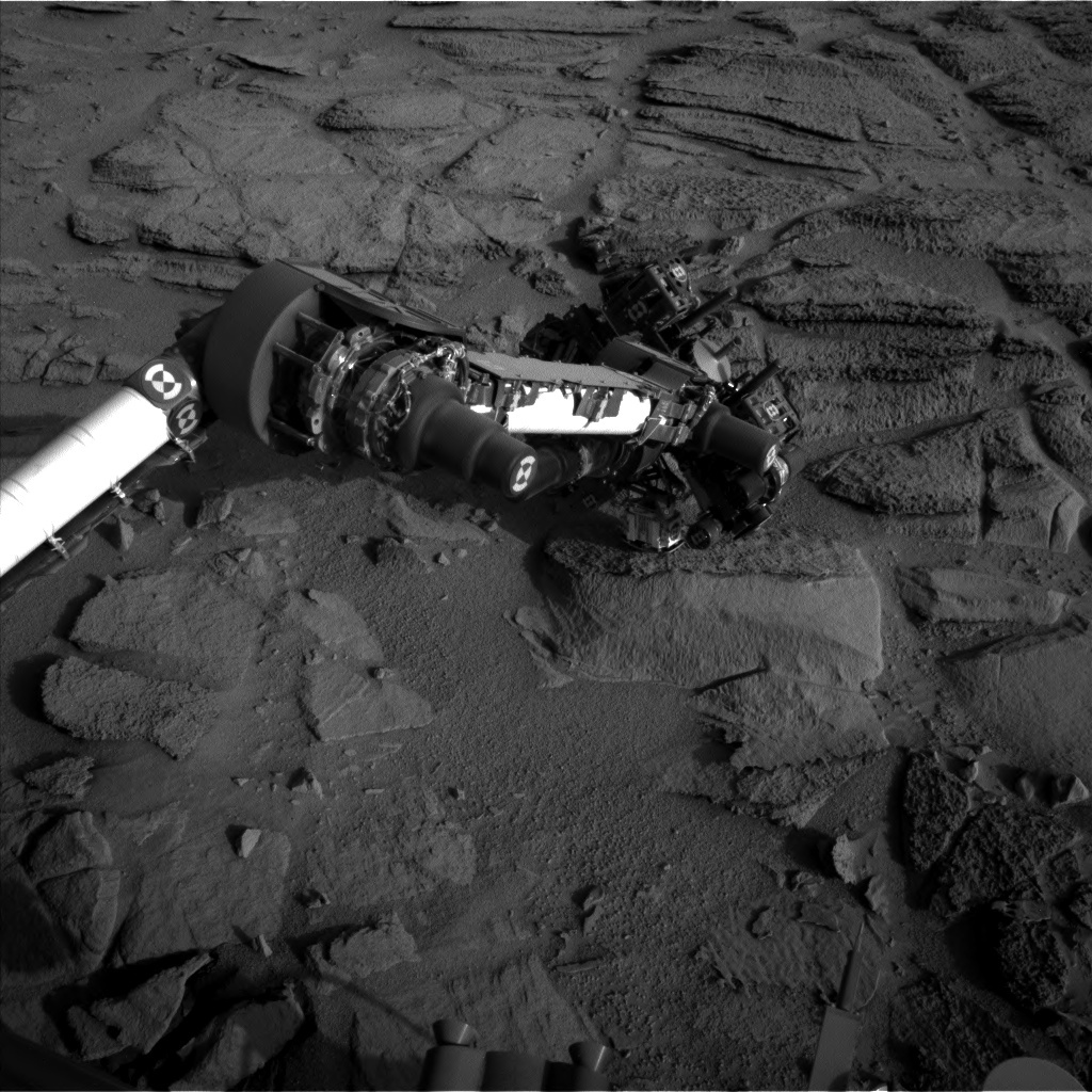 NASA's Mars rover Curiosity acquired this image using its Left Navigation Camera (Navcams) on Sol 323