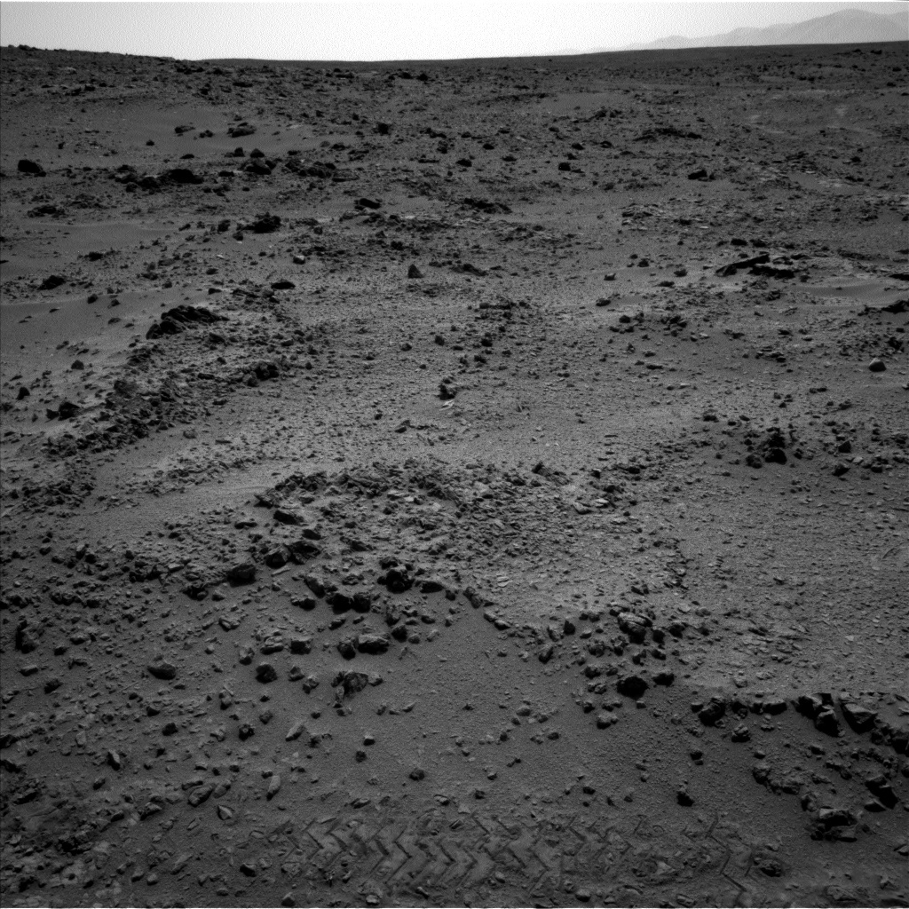 NASA's Mars rover Curiosity acquired this image using its Left Navigation Camera (Navcams) on Sol 324