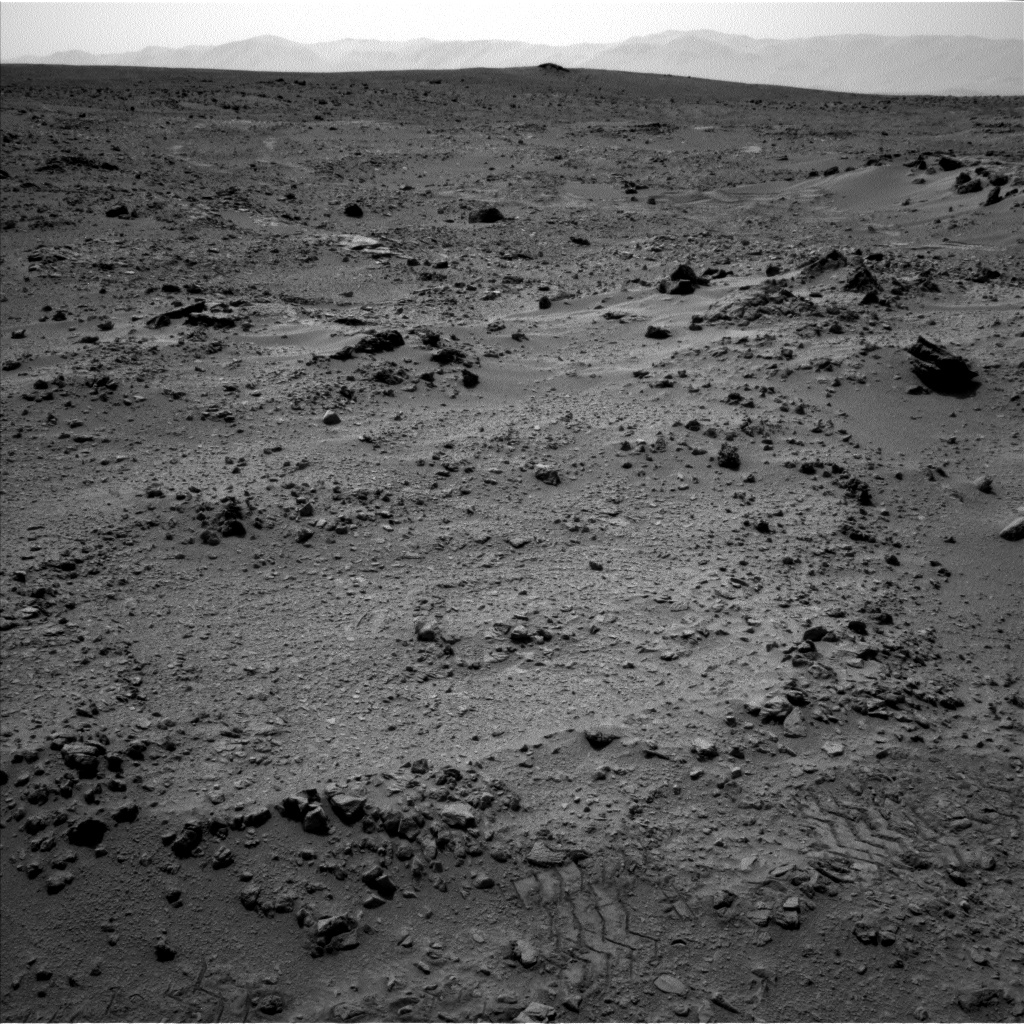 Nasa's Mars rover Curiosity acquired this image using its Left Navigation Camera on Sol 324, at drive 0, site number 7