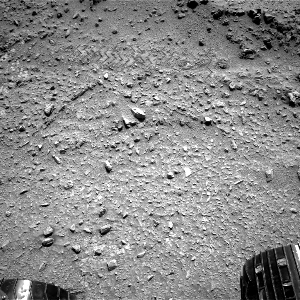 Nasa's Mars rover Curiosity acquired this image using its Right Navigation Camera on Sol 324, at drive 0, site number 7