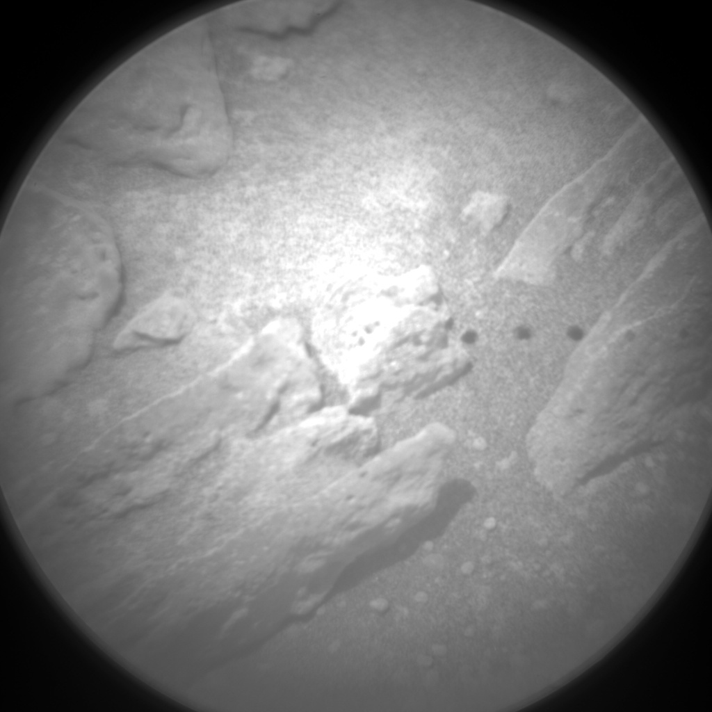 NASA's Mars rover Curiosity acquired this image using its Chemistry & Camera (ChemCam) on Sol 327