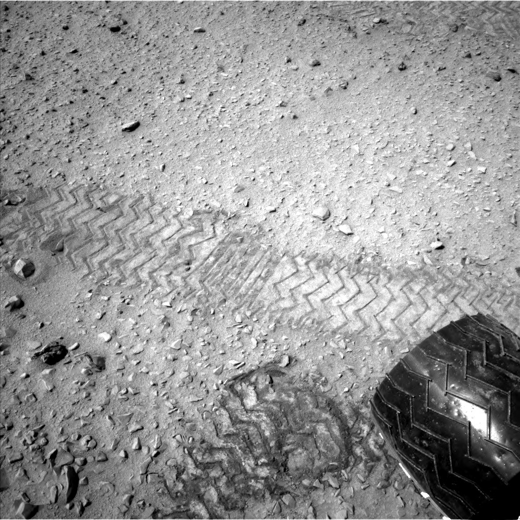 NASA's Mars rover Curiosity acquired this image using its Left Navigation Camera (Navcams) on Sol 327