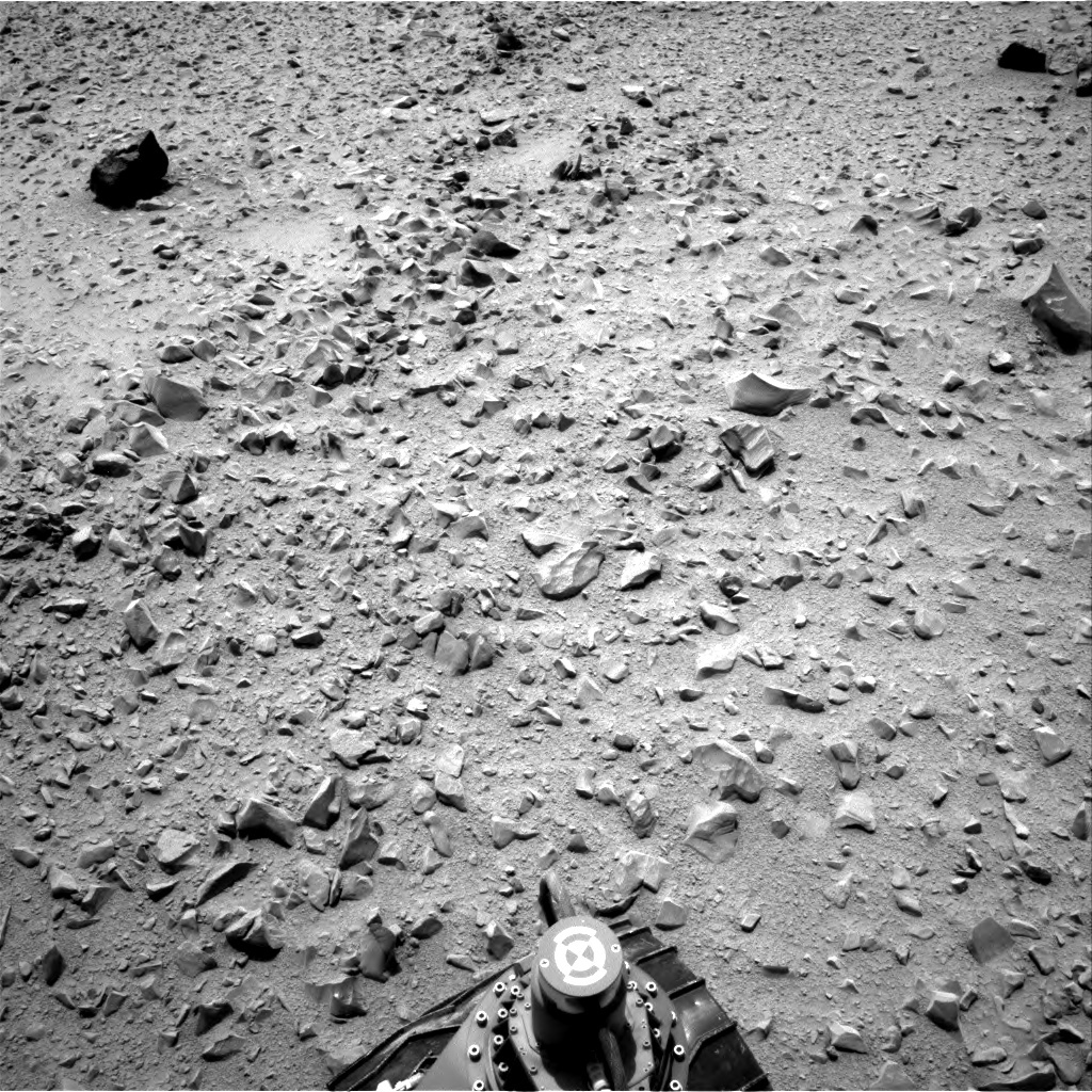 NASA's Mars rover Curiosity acquired this image using its Right Navigation Cameras (Navcams) on Sol 327