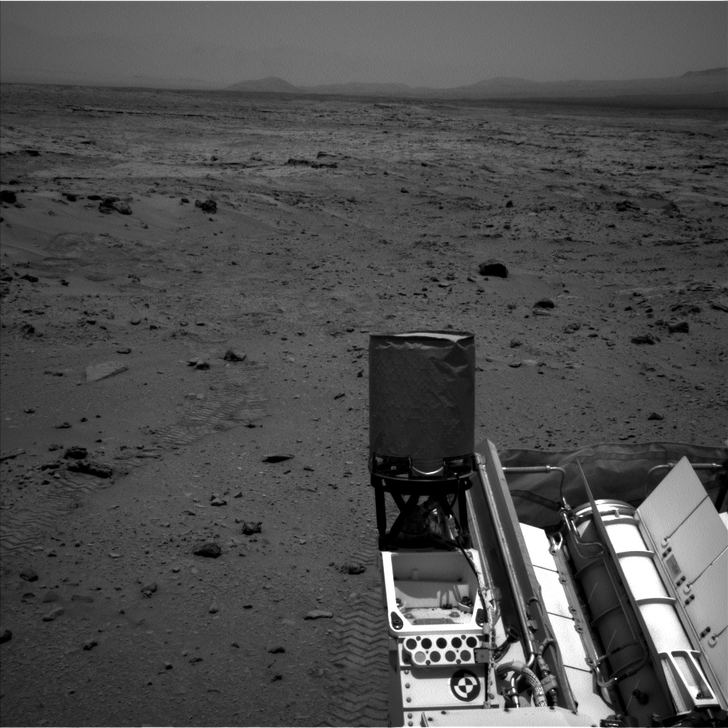 Nasa's Mars rover Curiosity acquired this image using its Left Navigation Camera on Sol 329, at drive 136, site number 7