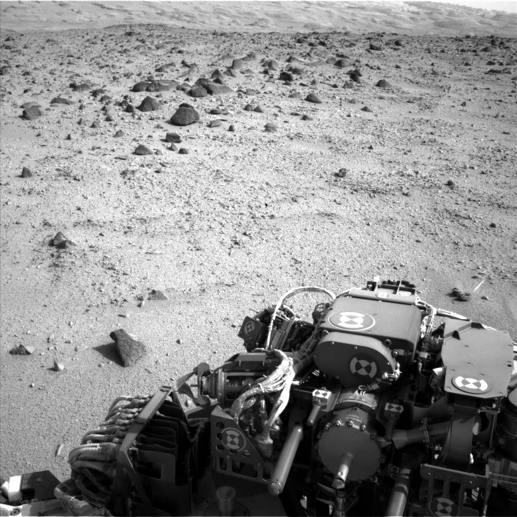 NASA's Mars rover Curiosity acquired this image using its Left Navigation Camera (Navcams) on Sol 329
